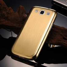 S3 Luxury Aluminum Steel Hard Case for samsung Galaxy S3 SIII Mesh Metal Back Cover 0.3MM Ultr-Thin for S3 I9300 Coque(China (Mainland))