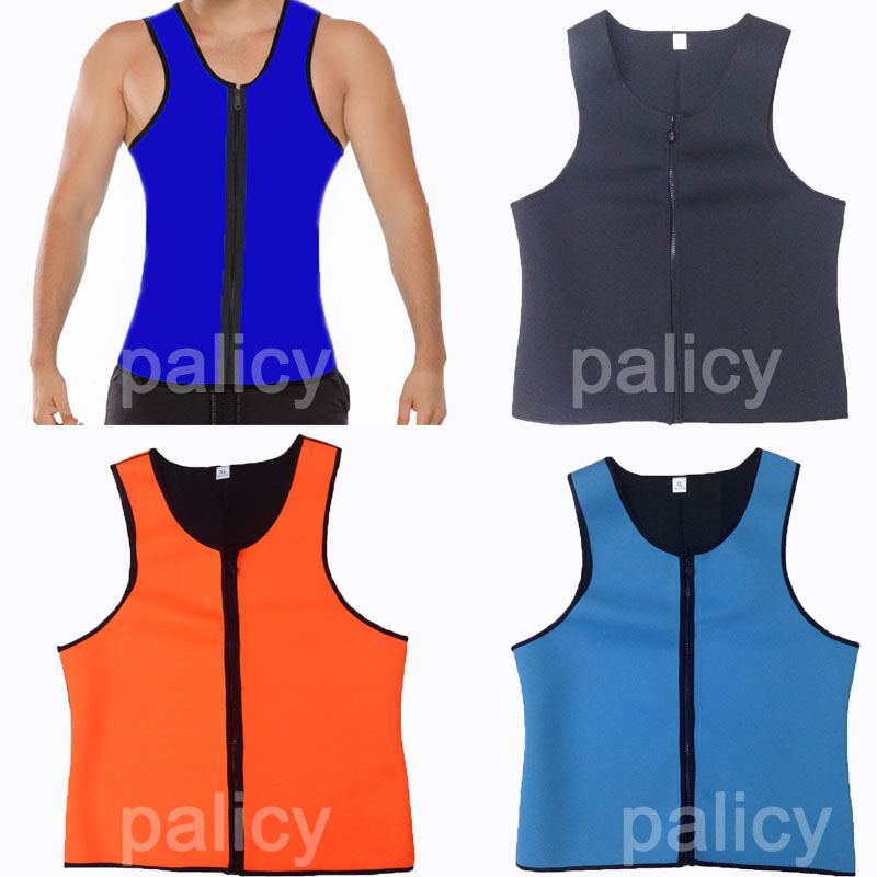 Palicy Newest Hot Mens Neoprene Sport Waist Cincher Vest Shapewear Bustiers Slimming Body Shaper Waist Trainer Corset Wholesale(China (Mainland))