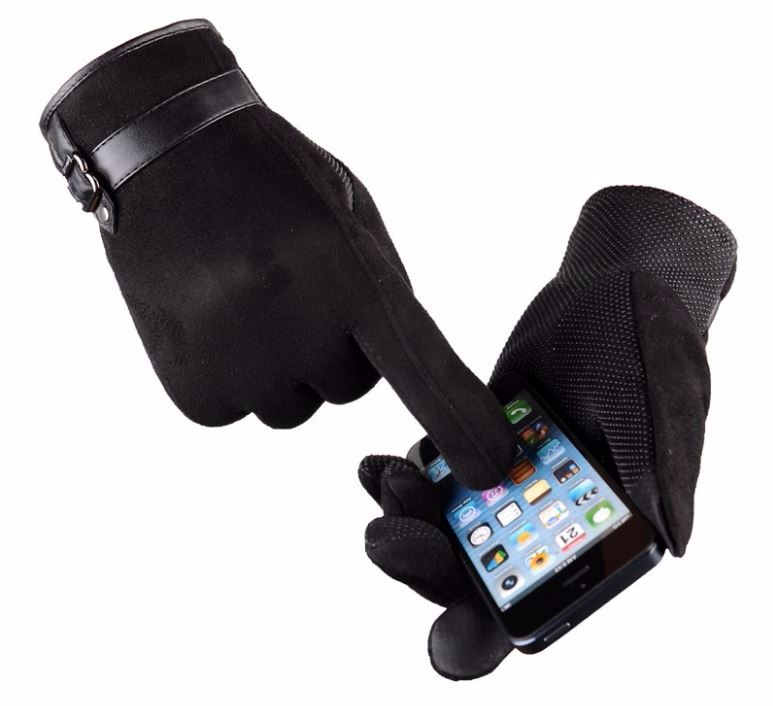 13GLV993 New arrival touch screen gloves with thick warm fleece cycling driving outdoor sports gloves