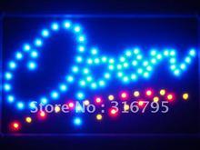 led029-b OPEN Script LED Neon Light Sign Whiteboard(China (Mainland))