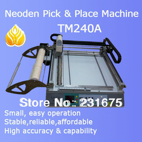 Mounting machine-TM240A,pick and place,placement machine,assemble machine,PCB,0402,5050,Feeder,chips,Precision,The manufacturer(China (Mainland))