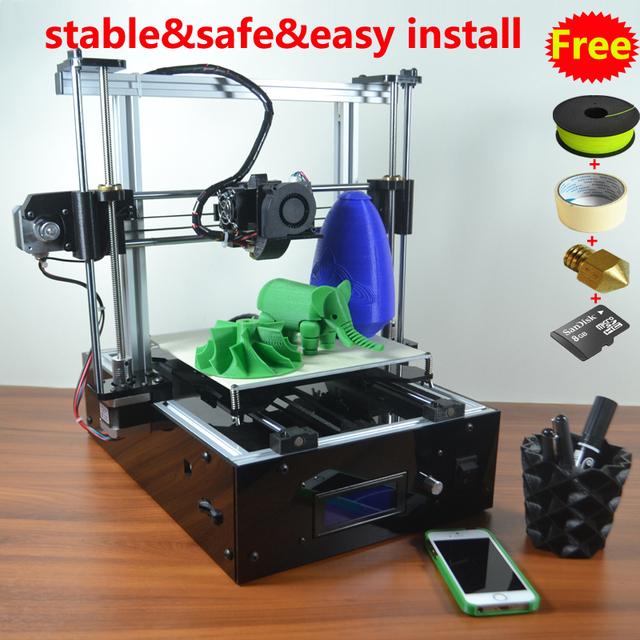 Reprap Prusa i3 3D принтер кабинет база, Простой монтаж, Алюминиевая рама, Более стабильной, Безопаснее, Всей машины кк, Обеспечения качества