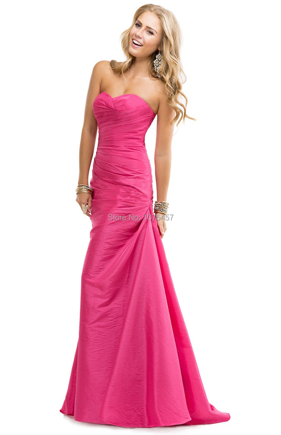 Popular Hot Pink Evening Gowns-Buy Cheap Hot Pink Evening Gowns ...