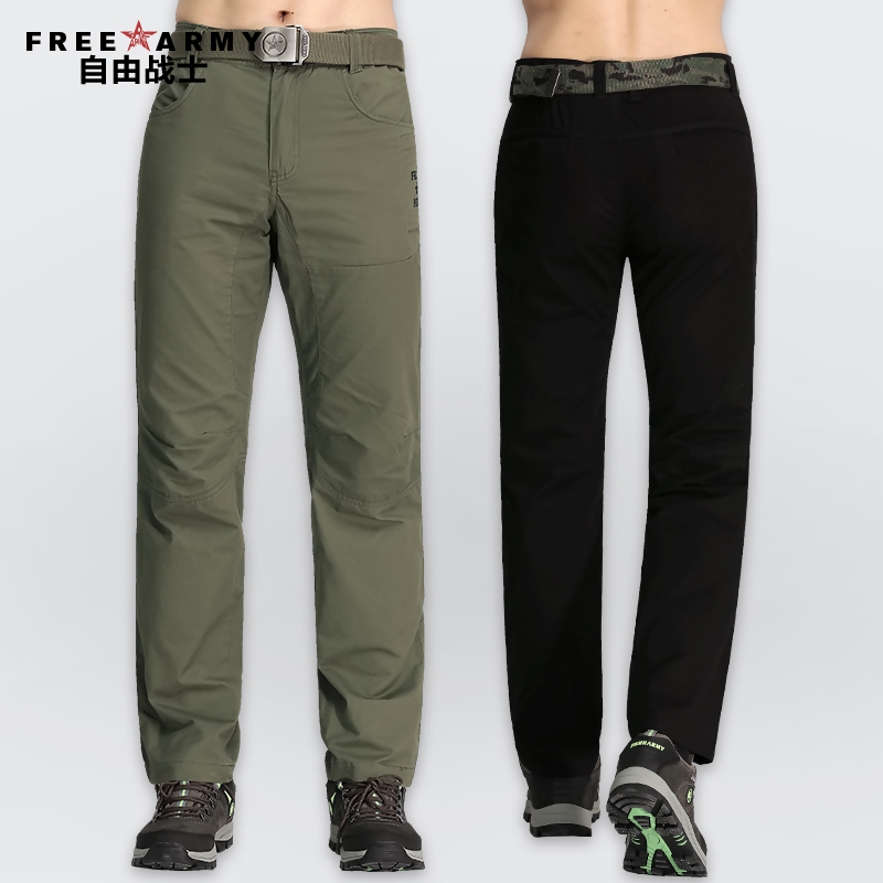 2016 New Fashion Men Cargo Pants Black and Army Green Cotton Outdoor Sport Casual Jogging Military gym-clothing MK-727 Z30(China (Mainland))