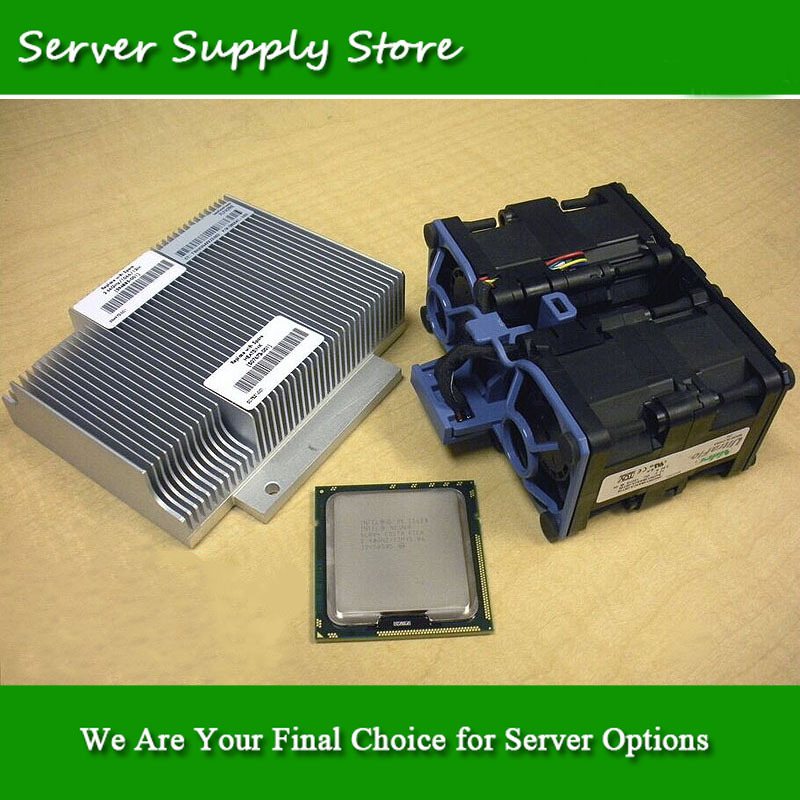 633787-B21 Xeon E5645 2.4GHz DL360 G7 full processor option kit. Retail packing, fast shipping!(China (Mainland))