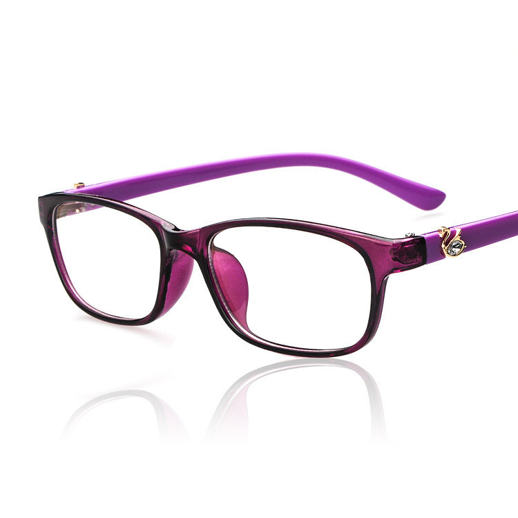 2016 Brand Design Diamond Women Eyeglasses Frames Women ...