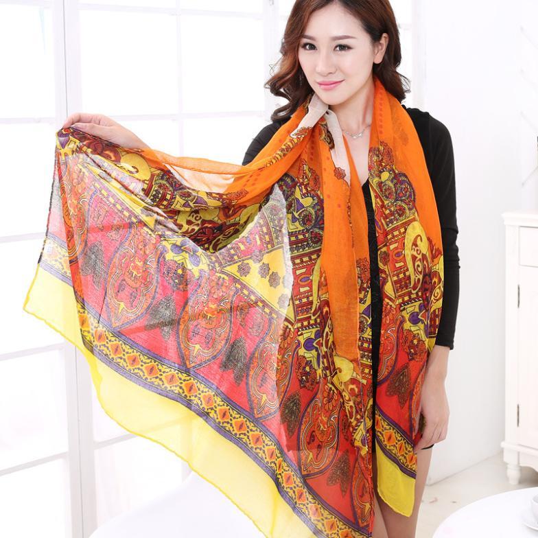 2015 new scarf scarves desigual salomon cachecol