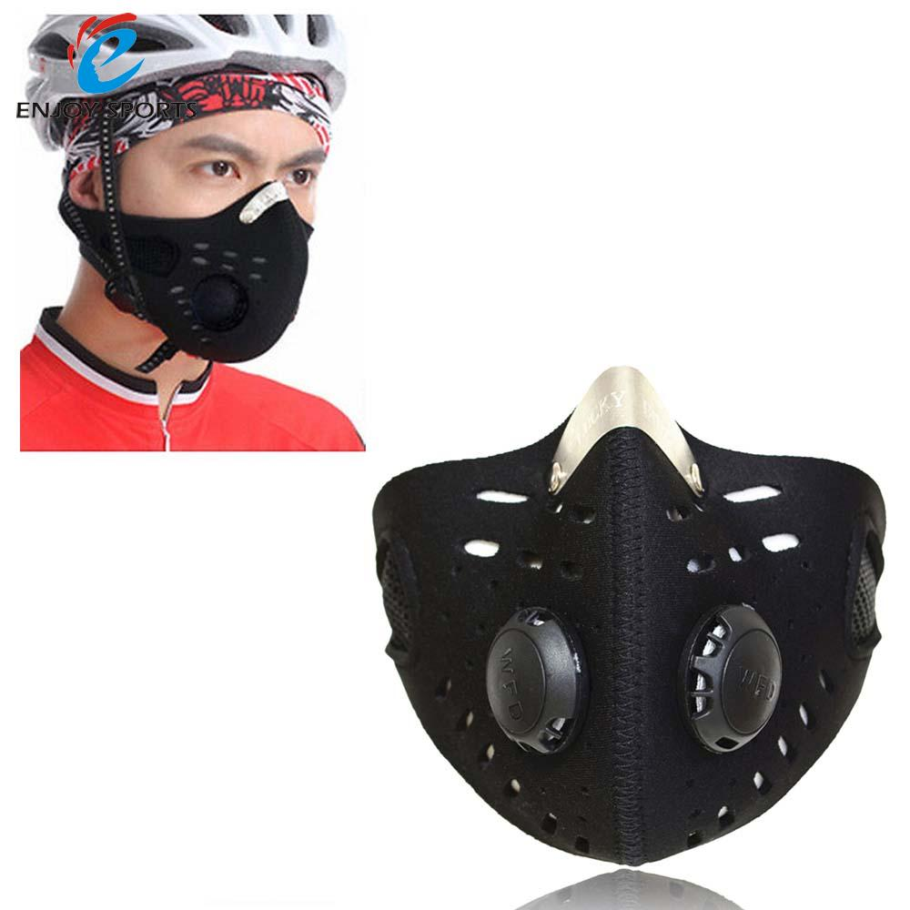 Half Face Mask Bike Bicycle cycling mask Sports Mask Anti-Dust Outdoor Sports Mask Filter Air Pollutant for Bicycle Riding(China (Mainland))