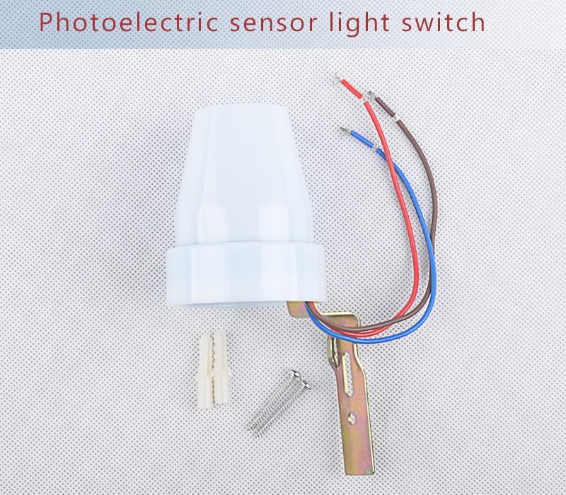 220V 240V AC outdoor automatic light switch photo sensor