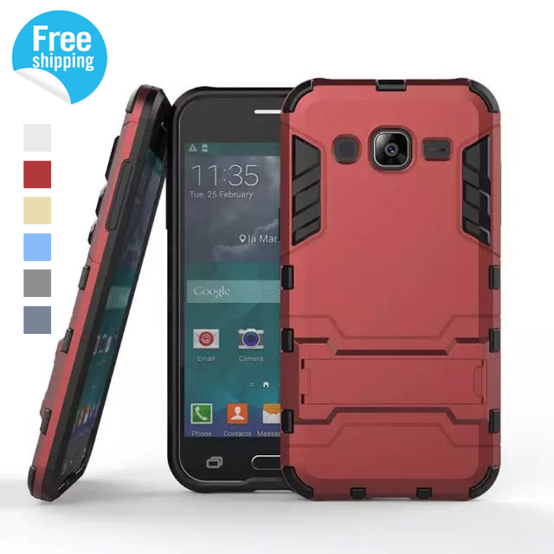 IDOOLS Brand Hybrid Armor Case For Samsung Galaxy J2 Case J200 J200F Cover Mobile Phone Back Cover Cases for Samsung Galaxy J2(China (Mainland))