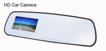 "Good Quality 2.7"" HD 720P Car DVR Vehicle Camera Video Recorder G-sensor Rearview Mirror Car Recorder DVR a18 SV006178(China (Mainland))"