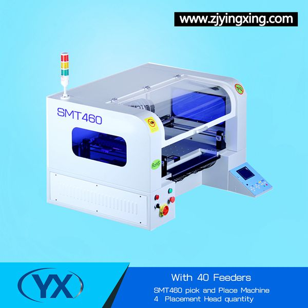 Used SMT Machine SMT460 Pick and Place Machine Soldering Machine WIth The Best Price 30/40 Smt Stick Feeder(China (Mainland))
