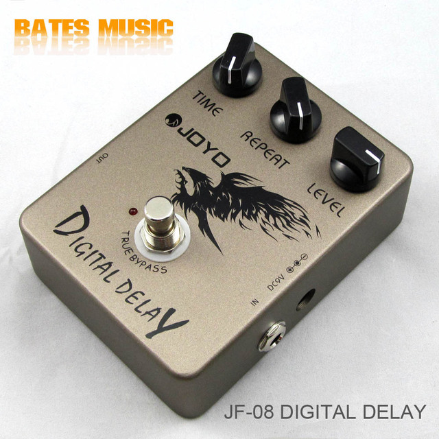JOYO JF-08/Guitar Effect Pedal Digital Delay , electric bass dynamic compression effects FREE SHIPPING