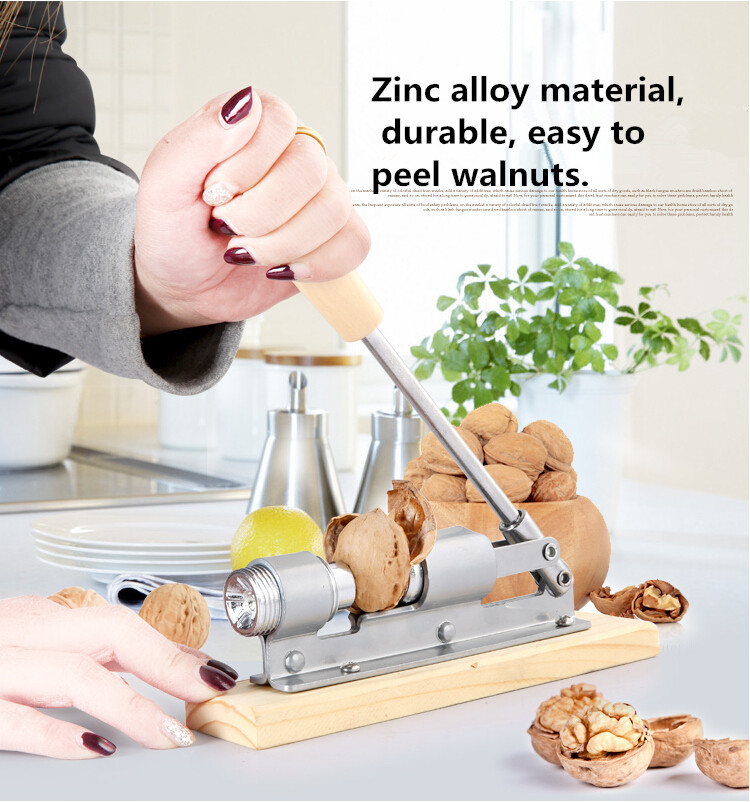 New high quality mechanical sheller walnut nutcracker nut cracker fast Opener Kitchen Tools fruits and vegetables(China (Mainland))
