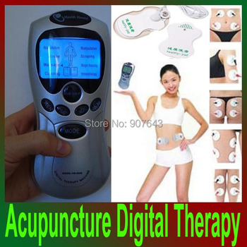 Wholesale Acupuncture Full Body Massager Digital Therapy Machine Health care beauty massage Free Shipping