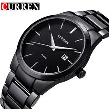 relogio masculino CURREN Mens Watches Top Brand Luxury Stainless Steel Analog Display Date Men's Waterproof Quartz Watch For Men