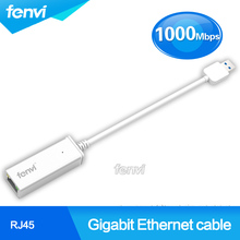 Fenvi USB 3.0 to RJ45 Lan Network 1000Mbps Gigabit usb ethernet rj45 Wifi adapter For Mac OS Tablet PC Laptop Win 7 8 XP(China (Mainland))