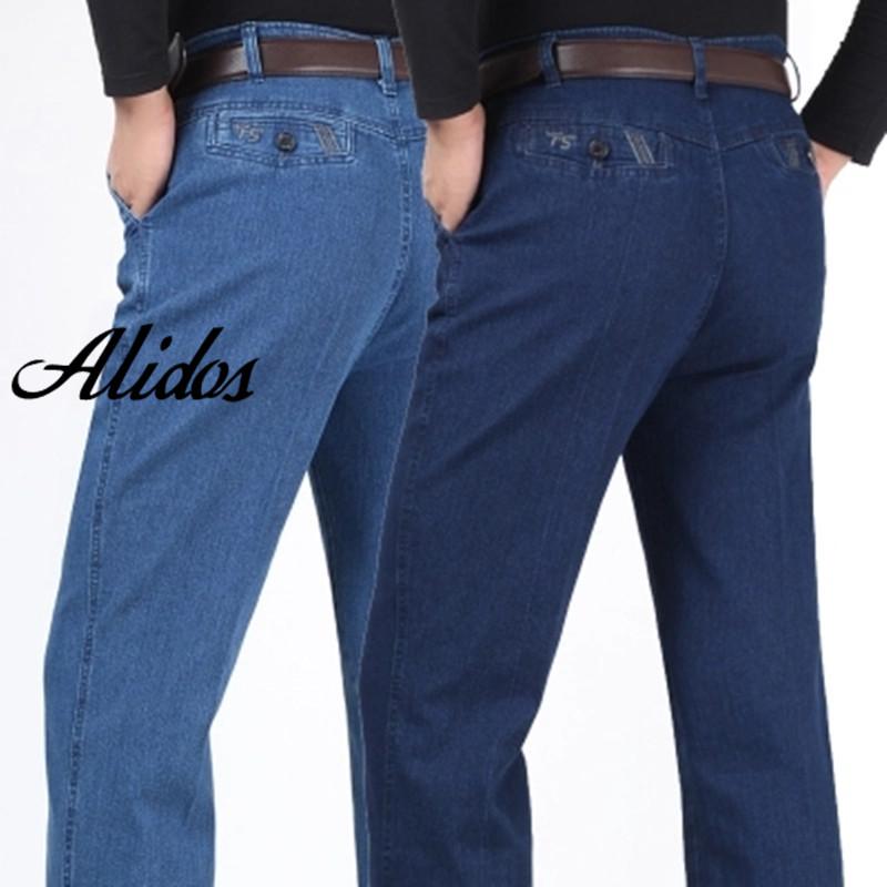 font b Mens b font Denim Jeans font b Pants b font Loose Fit Big