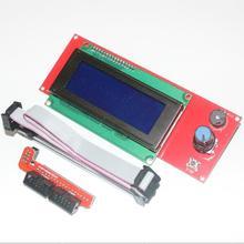3d-drucker Kit Smart Parts RAMPS 1,4 Steuerung Panel LCD 2004 Modul Display Monitor Motherboard Blauen Bildschirm(China (Mainland))