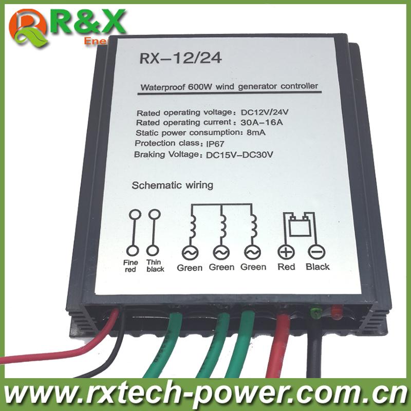 100W/200W/300W/400W/500W/600W Wind Generator Controller ;AC12V/24V wind turbine charge controller ; Wind Generator Regulator(China (Mainland))