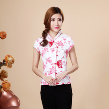 Hot Sale Summer Cotton Chinese Style Women Tang Suit Tops Blouse Vintage Traditional Chinese Shirt M L XL XXL XXXL 4XL T20