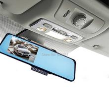 EZONETRONICS Car Rearview Mirror Camera Recorder DVR Dual lens Full HD 1080P 4.3'TFT LCD G-sensor Motion Detection Night Vision(China (Mainland))