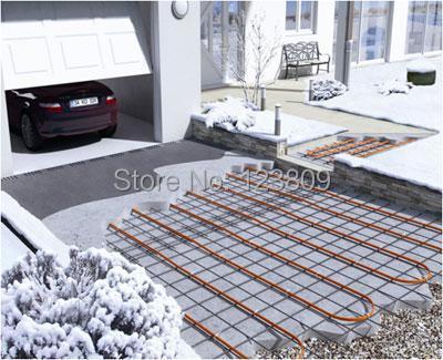 1000w 55 6 Meters Garage Outer Door Underfloor Heating