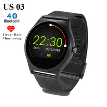 Buy Hot US03 Bluetooth Smart Watch MTK2502C 128M/64M Sleep Heart Rate Monitor Pedometer Wristwatch IOS Android Phone Smartwatch for $47.36 in AliExpress store