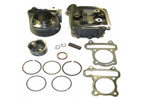 80cc Big Bore Kit 47mm Cylinder Head Piston Ring Set Scooter Engine Parts GY6 50