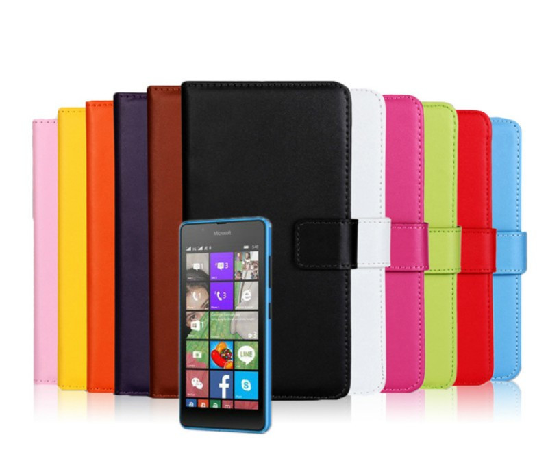 Microsoft Lumia 540 Genuine Wallet Case (1)