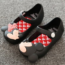 Mini Melissa Shoes 2016 Summer girls Sandals Cute Girls shoes Children Baby Shoes For Girl shoes size EUR24-29 mini melissa(China (Mainland))