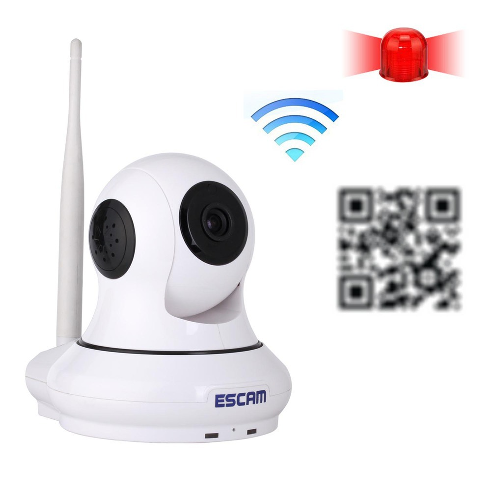 Newest 720P HD IP Camera P2P Wirless Wifi Home Security CCTV Camera with 64 Wireless Alarm Support IOS Smart Phone QF500(China (Mainland))