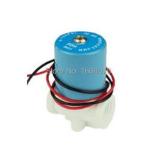 """12V 1/4"""" N/C Plastic Thread Inlet Water Solenoid Valve for RO Reverse Osmosis Pure System(China (Mainland))"""