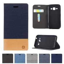 Buy Case Samsung Galaxy J1 2015 J100 SM-J100F J100F Denim Leather Flip Phone Cover J 1 J100H SM-J100H J100M SM-J100M SM-J100 for $4.47 in AliExpress store