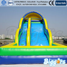 Amusing Summer Water Games Slide Inflatable Jumping Castle Toy For Sale(China (Mainland))