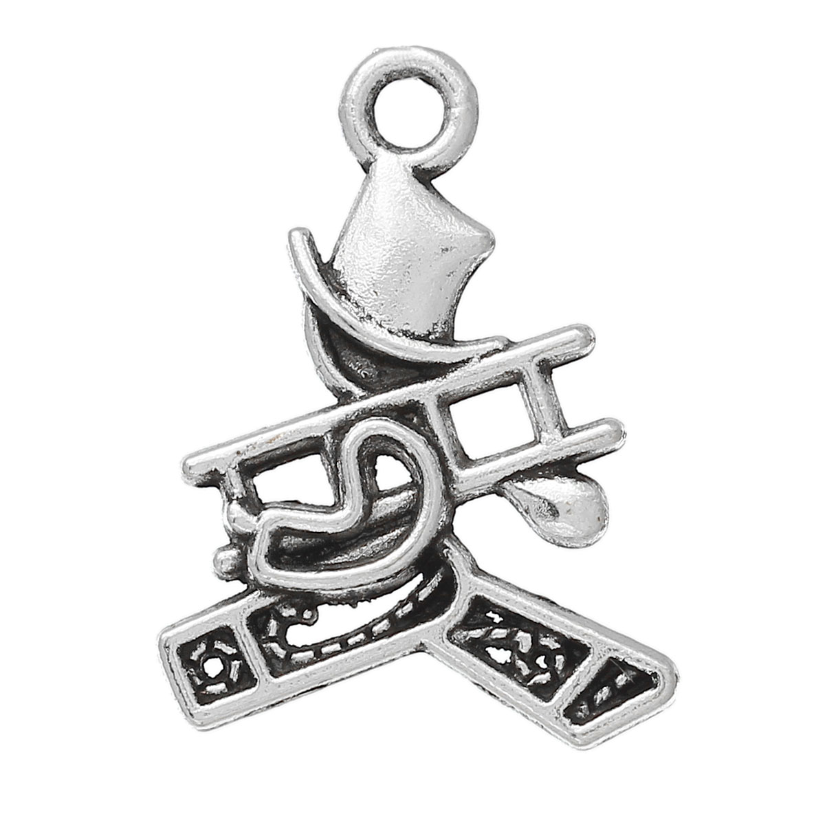 "Zinc metal alloy Charm Pendants Human Antique Silver 21.0mm( 7/8"") x 16.0mm( 5/8""), 4 PCs 2015 new(China (Mainland))"
