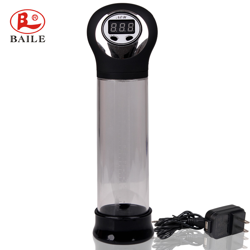 Charging automatic digital Penis Pump penis Enlargement device penis develop growth up sex products for man<br><br>Aliexpress