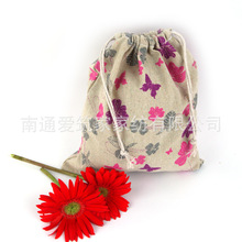 2016 Limited New Lapices Estuches School Pen Case Wholesale Cotton Bags Cloth Tote Bag Butterfly Folding Drawstring 14*16cm Az(China (Mainland))