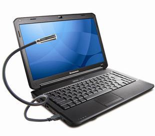 Freeshipping Portable PC Notebook Laptop Computer Keyboard USB LED Lamp Flexible Night Light 2 Color(China (Mainland))
