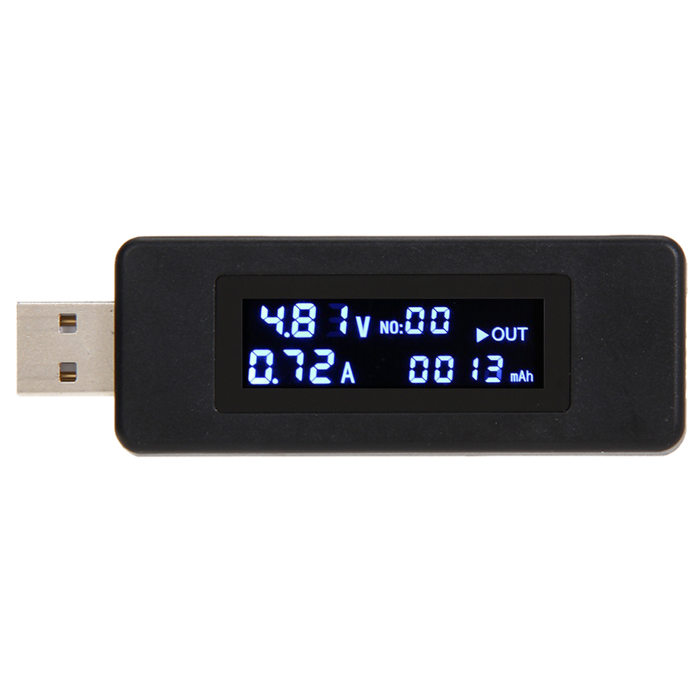 New network test tool for USB LCD Charger Voltage Current Detector Tester for Phone Power Bank iPhone(China (Mainland))
