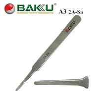 BAKU 2A-Sa Broad Tips Precision Tweezers, High Quality Swiss Stainless Steel Anti-static Tweezers, Repair Multi Function Tool(China (Mainland))