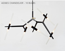 Roll Hill Agnes Chandelier Modern Chandelier 10 Head  Chandelier Light Lighting Design by Lindsey Adams Adelman +Free shipping!(China (Mainland))