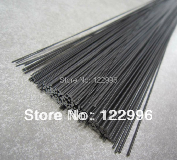0.7mm(dia)*1000mm carbon fiber pultrusion rod for kite bar or airplane model