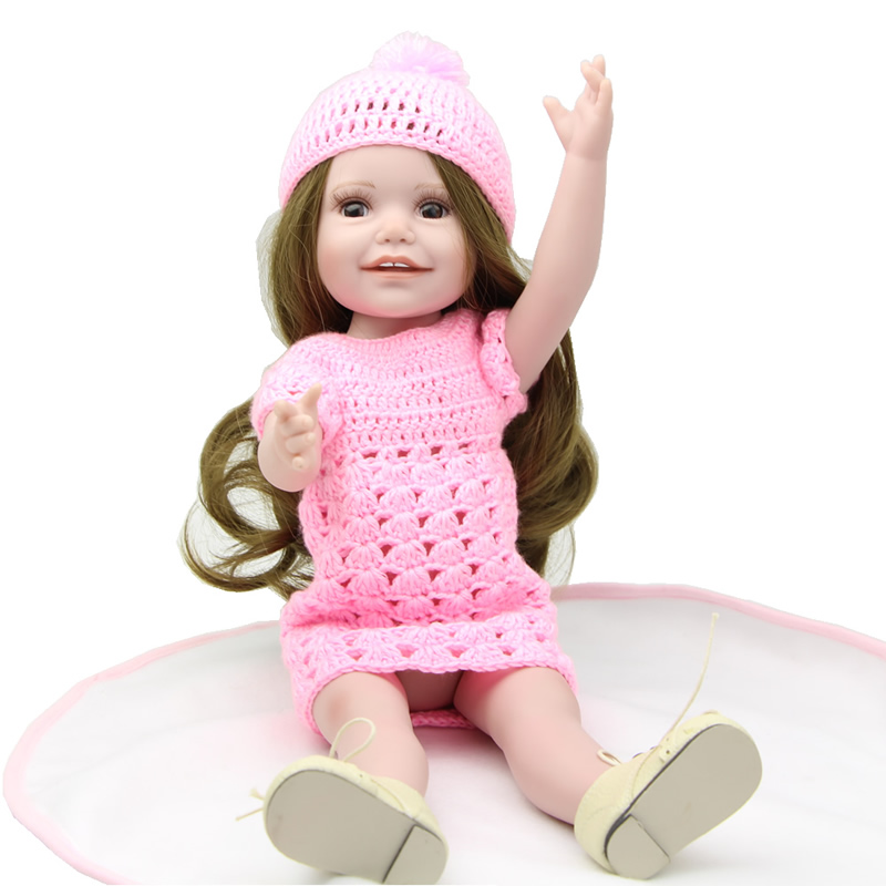 Fashion Lifelike Baby American 8 Inch girl Doll Play toys baby toys girls gift(China (Mainland))