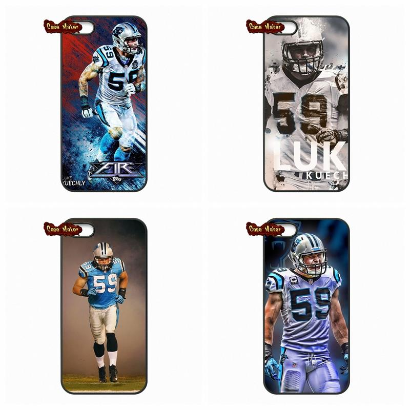 For Samsung Galaxy 2015 2016 J1 J2 J3 J5 J7 A3 A5 A7 A8 A9 Pro #59 Luke Kuechly Football Star Phone Case Cover(China (Mainland))