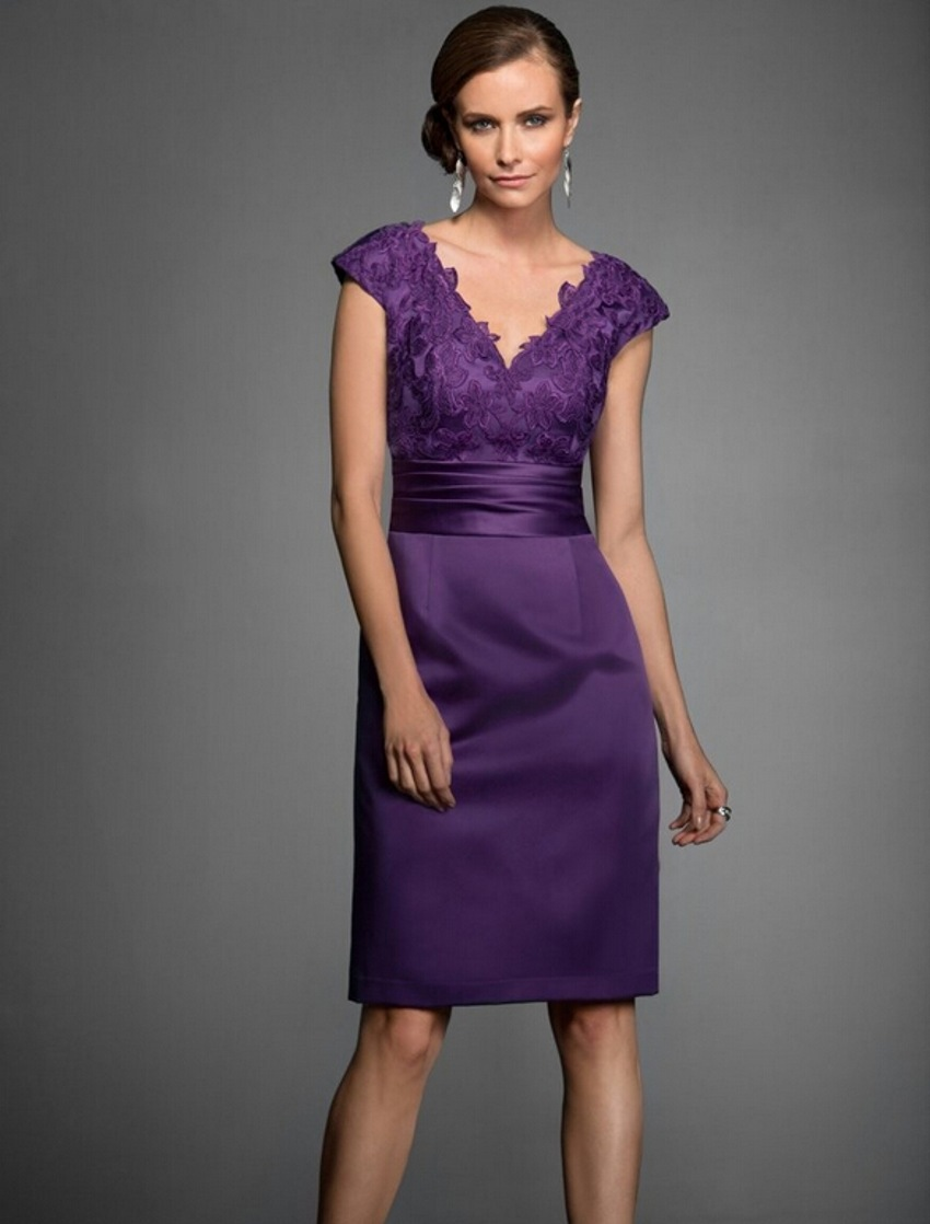 Buy sexy dress for purple mother of the for Dress pant outfits for wedding