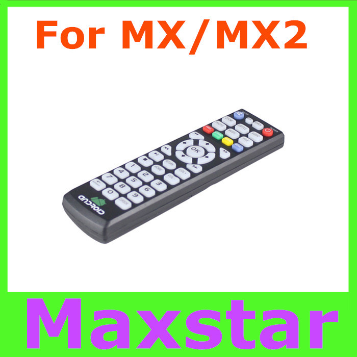 1pc G-BOX remote control for  MX2 MX  XBMC Android TV Box high quality replacement MX Box remote controller(China (Mainland))