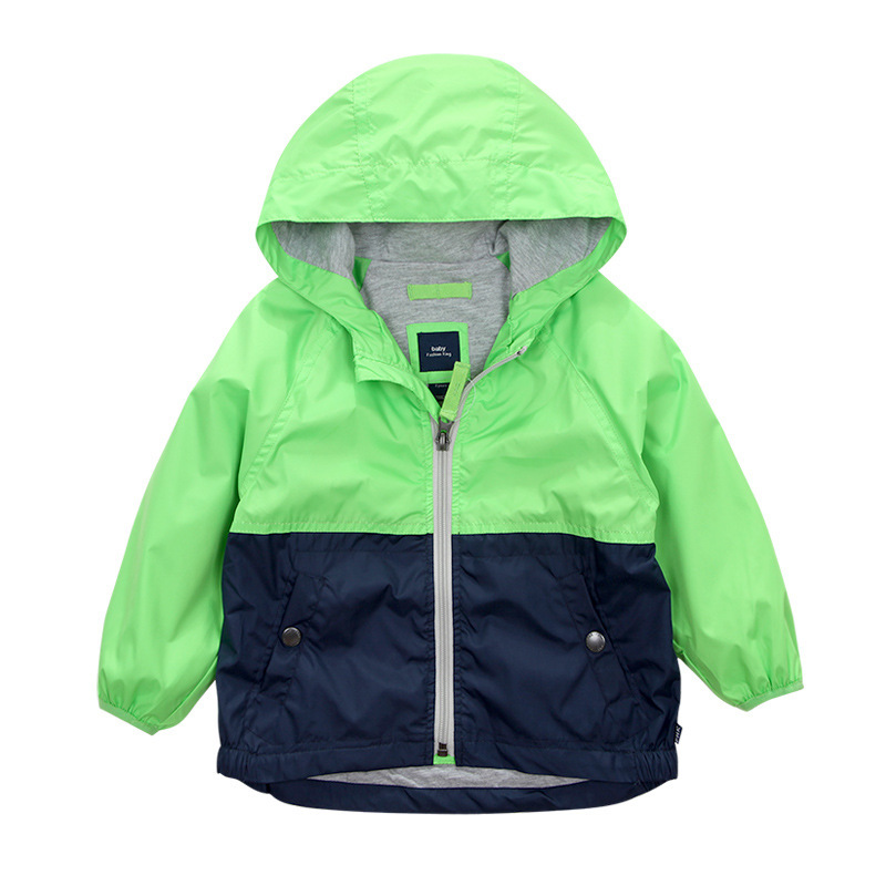 Kids Toddler Boys Jacket Coat Spring Autumn Hooded Windbreaker For Children Outerwear Minnie Baby Clothes infant Blazer Clothing(China (Mainland))