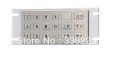 Metal Numeric Keypad washable keyboard