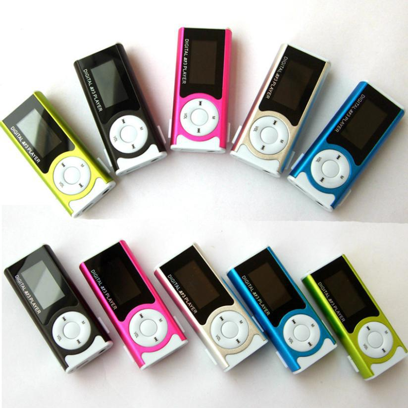 Portable Shiny Mini USB Clip LCD Screen MP3 Media Player Support 16GB Micro SD Card Sports MP3 Music Player MP3/WMA A29(China (Mainland))